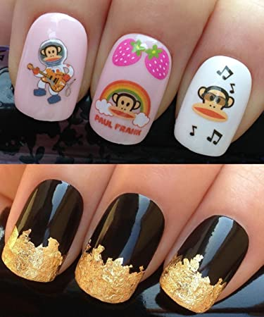 Amazon.com: NAIL DECALS WATER TRANSFERS STICKERS ART SET #13. PLUS ...