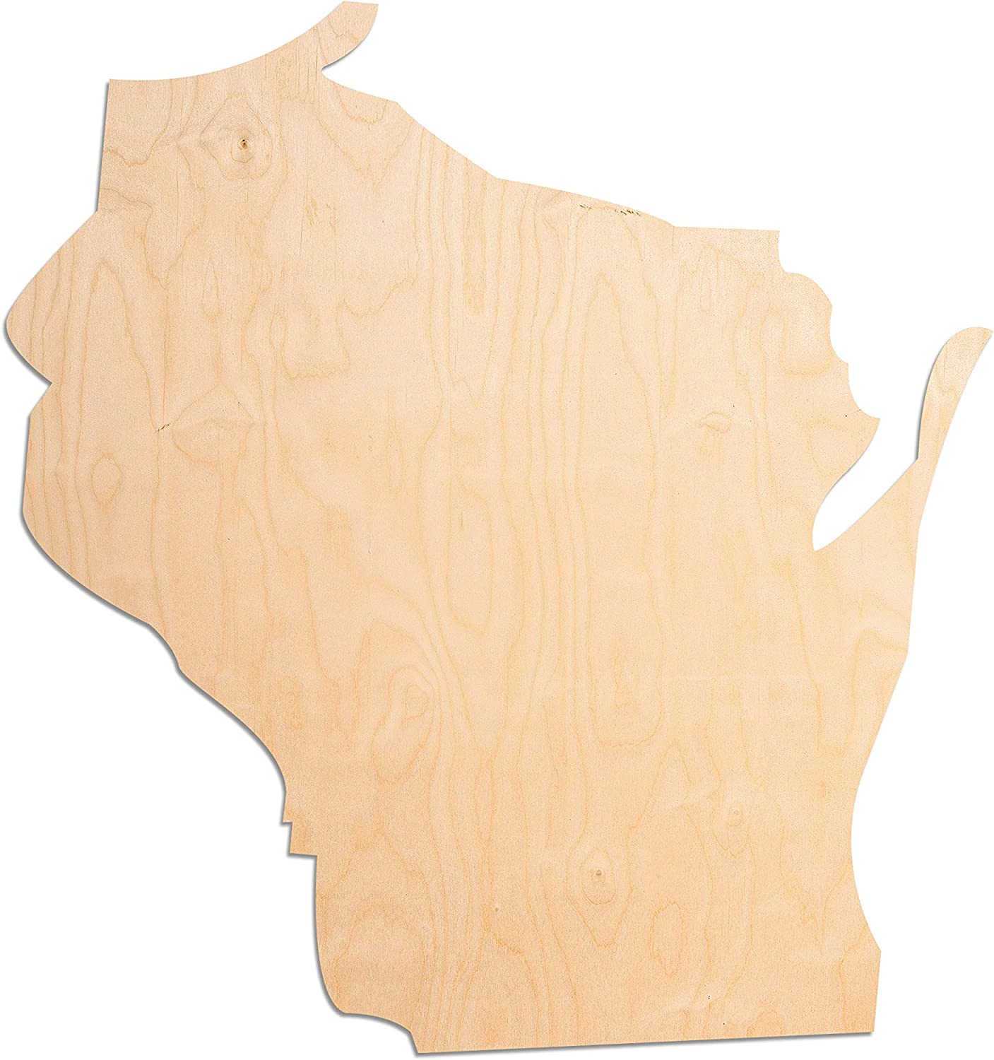 Laser Cut Out Unfinished Wood Shape Craft Supply Maine