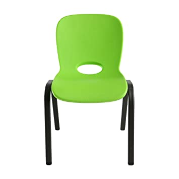 Lifetime 80473 Kids Stacking Chair  4 Pack  Lime GreenAmazon com  Lifetime 80473 Kids Stacking Chair  4 Pack  Lime  . Green Plastic Stack Chairs. Home Design Ideas