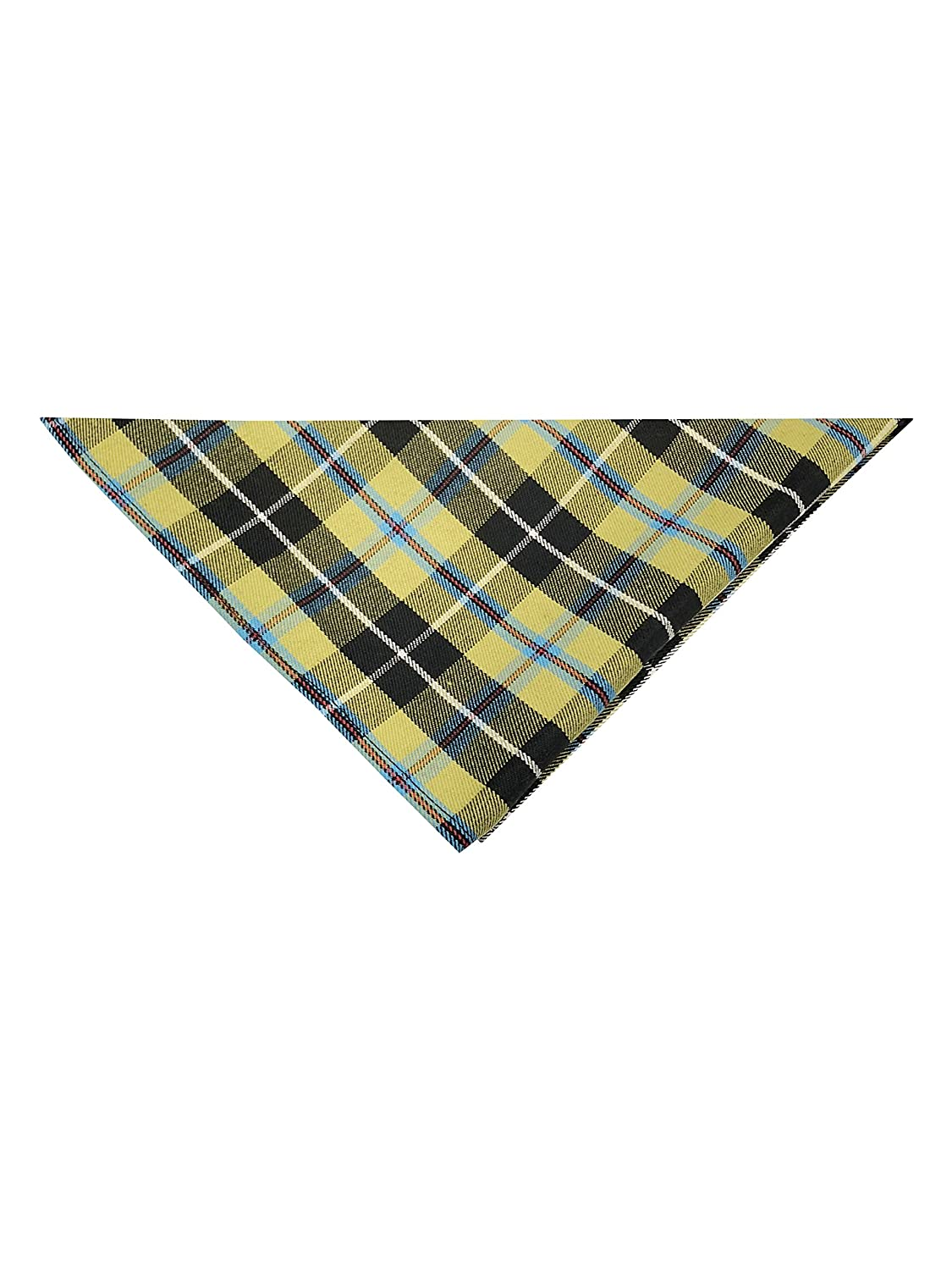 Cornish National Tartan Pocket Square Available In 2 Sizes