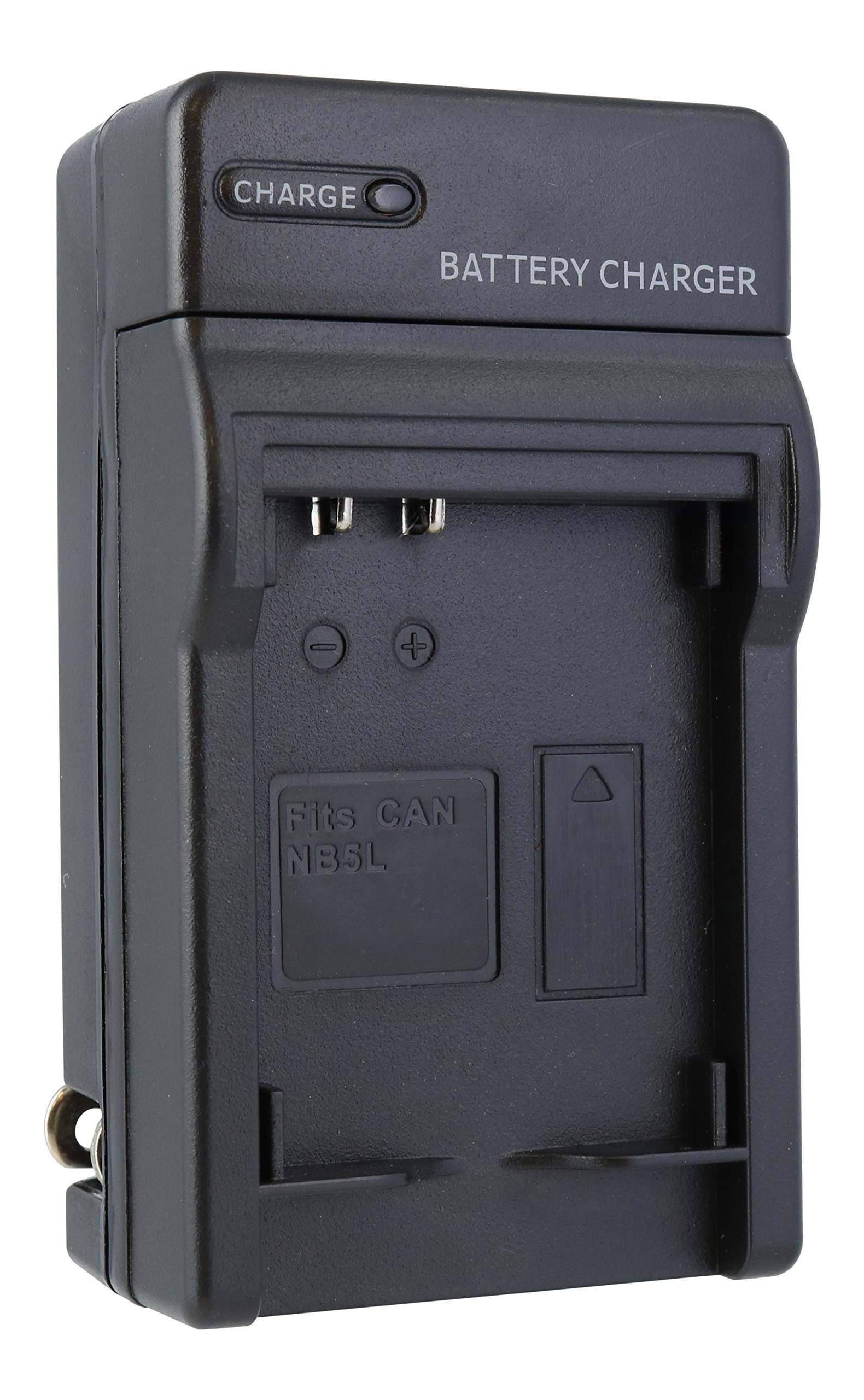 TechFuel Battery Charger Kit for Canon PowerShot SD970 IS Camera - For Home, Car and Travel Use