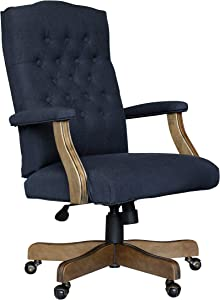 Boss Office Products Executive Commercial Chair, Navy