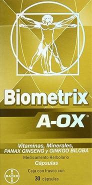 Biometrix Cápsulas A-Ox, 30 Unidades