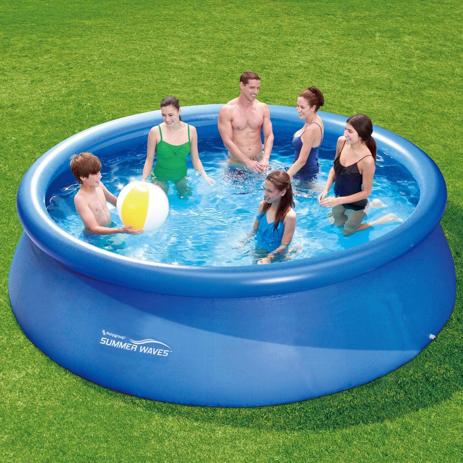 Summer Waves Fast Set Quick Up Piscina 366 x 91 cm swimming pool Familias Piscina: Amazon.es: Jardín