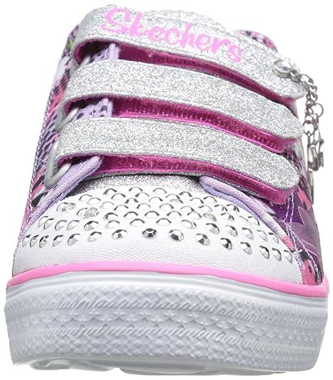 Skechers Twinkle Breeze Pop Tastic, Baskets Basses Fille: Amazon.fr:  Chaussures et Sacs