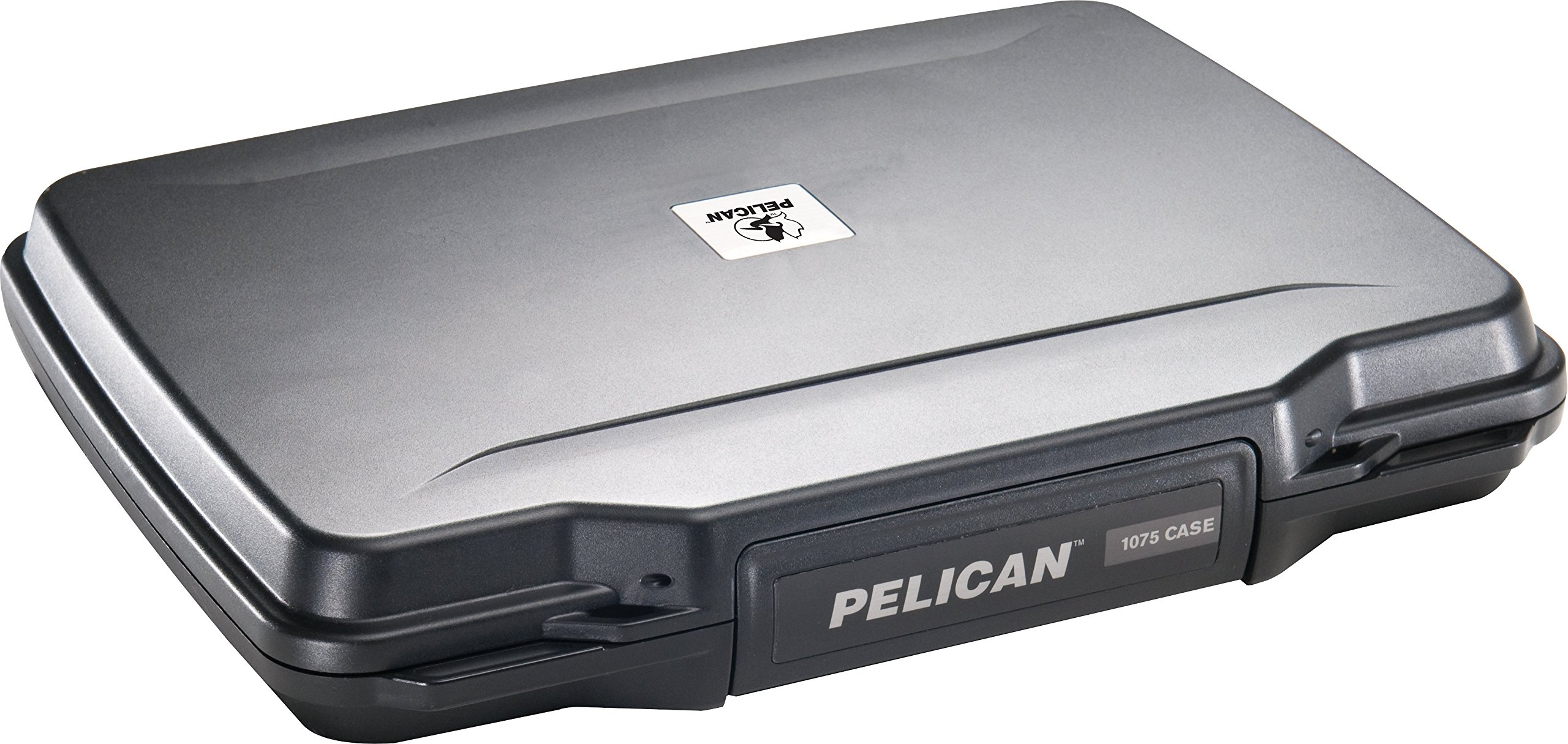 Pistol Case | Pelican P1075 Slim Profile Pistol Case (Black) by Pelican