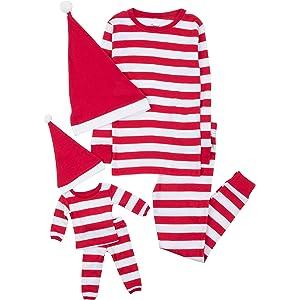 Leveret Kids   Toddler Pajamas Matching Doll   Girls Pajamas 100% Cotton Christmas  Pjs Set 7b73a2279