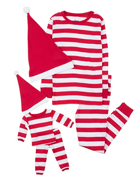 Amazon.com: Leveret Pijamas a juego para niñas y muñeca ...