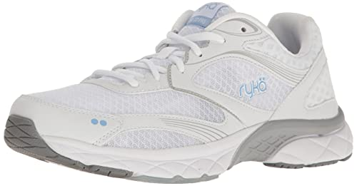 Zapatillas para caminar Propel Pro Pro para mujer RYKA, blanco / gris, 11 m US: Amazon.es: Zapatos y complementos