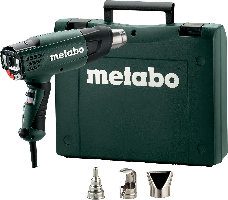 Metabo 6.02365.50 Decapadora He 23-650 (4 Memorias Temperatura) 2300W con Maletín, Negro/Verde, Talla Única