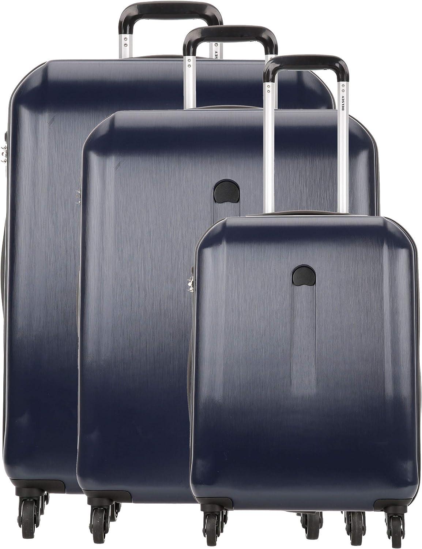 Delsey Maputo Juego de maletas (4 ruedas) azul oscuro 76