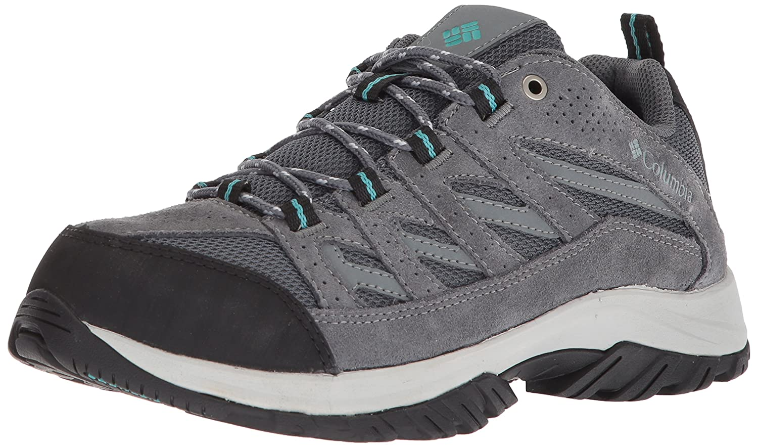 Columbia Women's Crestwood Hiking Shoe B01N4O1207 6 B(M) US|Graphite, Pacific Rim