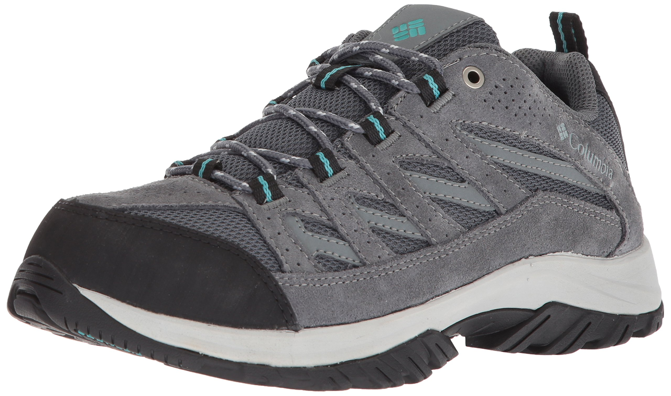 Columbia Women's Crestwood Hiking Shoe, Graphite, Pacific Rim, 7 B US