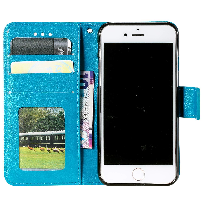 Nadoli Flip Handyh/ülle f/ür Galaxy S6 Edge,Schutzh/ülle Pu Leder Lustig Gepr/ägt Blumen Eule Magnetverschluss Wallet Brieftasche Lederh/ülle mit Standfunktion f/ür Samsung Galaxy S6 Edge