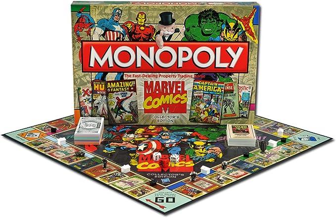 Marvel Monopoly - Edición Comics, Juego de Mesa (Winning Moves): Amazon.es: Juguetes y juegos