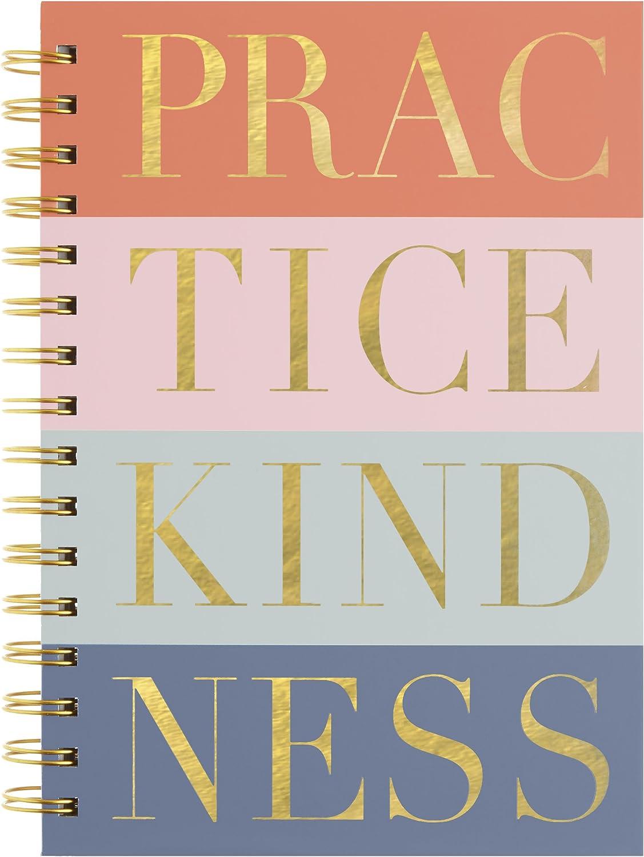 - Amazon.com: C.R. Gibson Multi Color 'Practice Kindness' Spiral