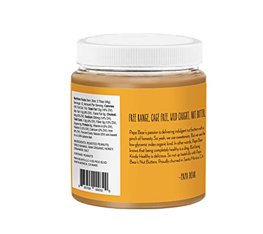 Amazon.com : Banana Peanut Butter 3- Pack - High Protein Peanut Butter, Gluten Free Peanut Butter with Light Organic Sweeteners. High Protein and Healthy ...