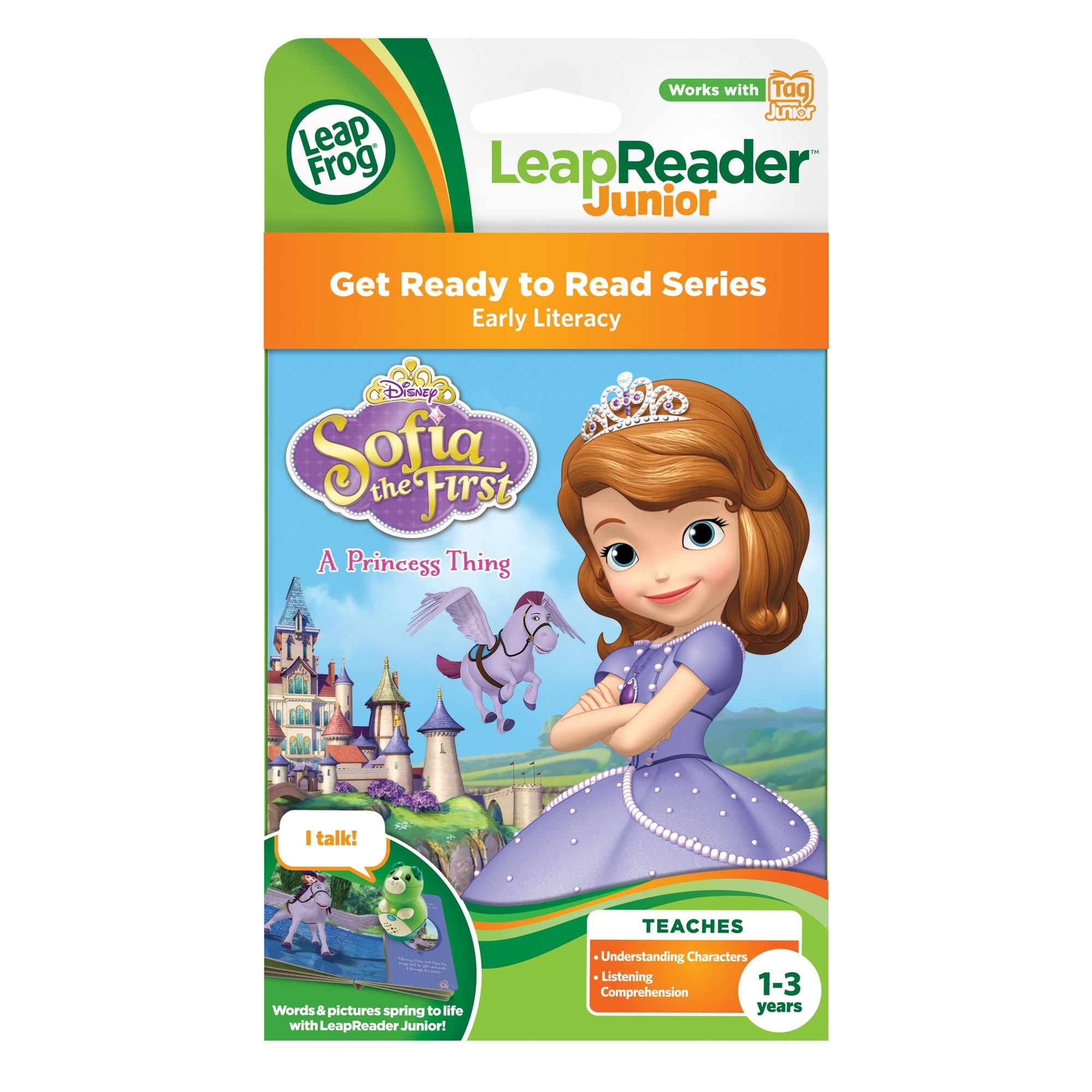 LeapFrog LeapReader Junior Book: Disney Sofia the First: A Princess Thing by LeapFrog (Image #3)