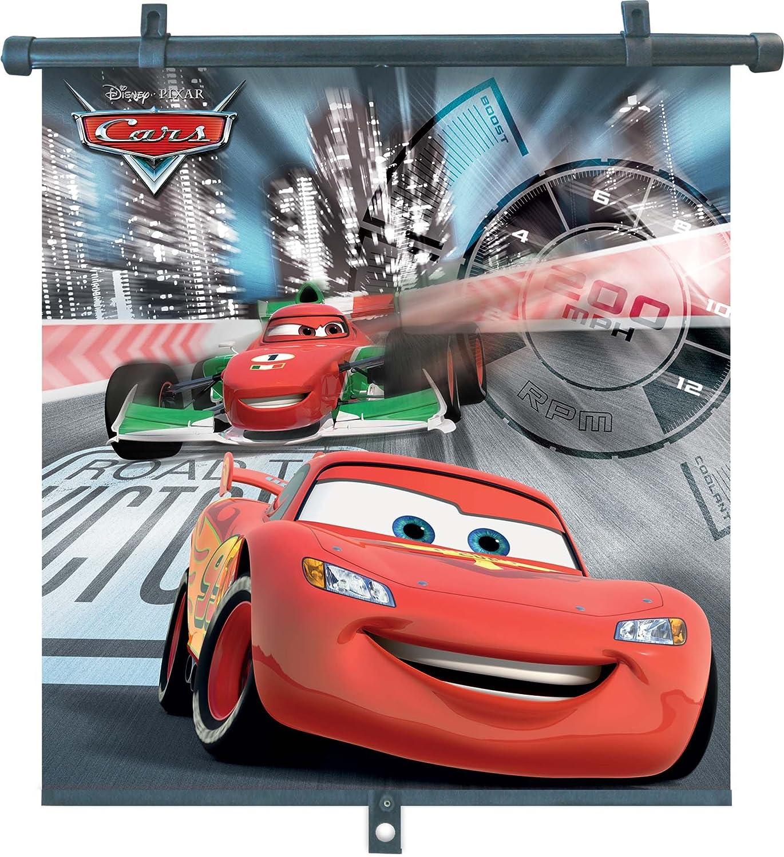 Disney 29062 Cars 2 Unidades, 46 x 56/cm dise/ño de Rayo Mcqueen y Francesco Parasoles enrollables para ventanillas de Coche