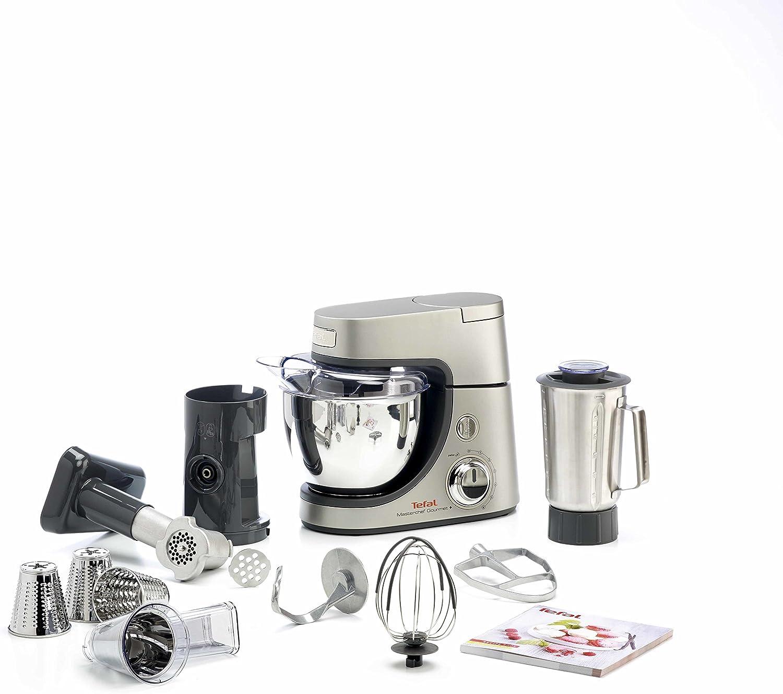 Tefal Masterchef Gourmet+ Premium 900W 4.6L Gris, Plata - Robot de ...