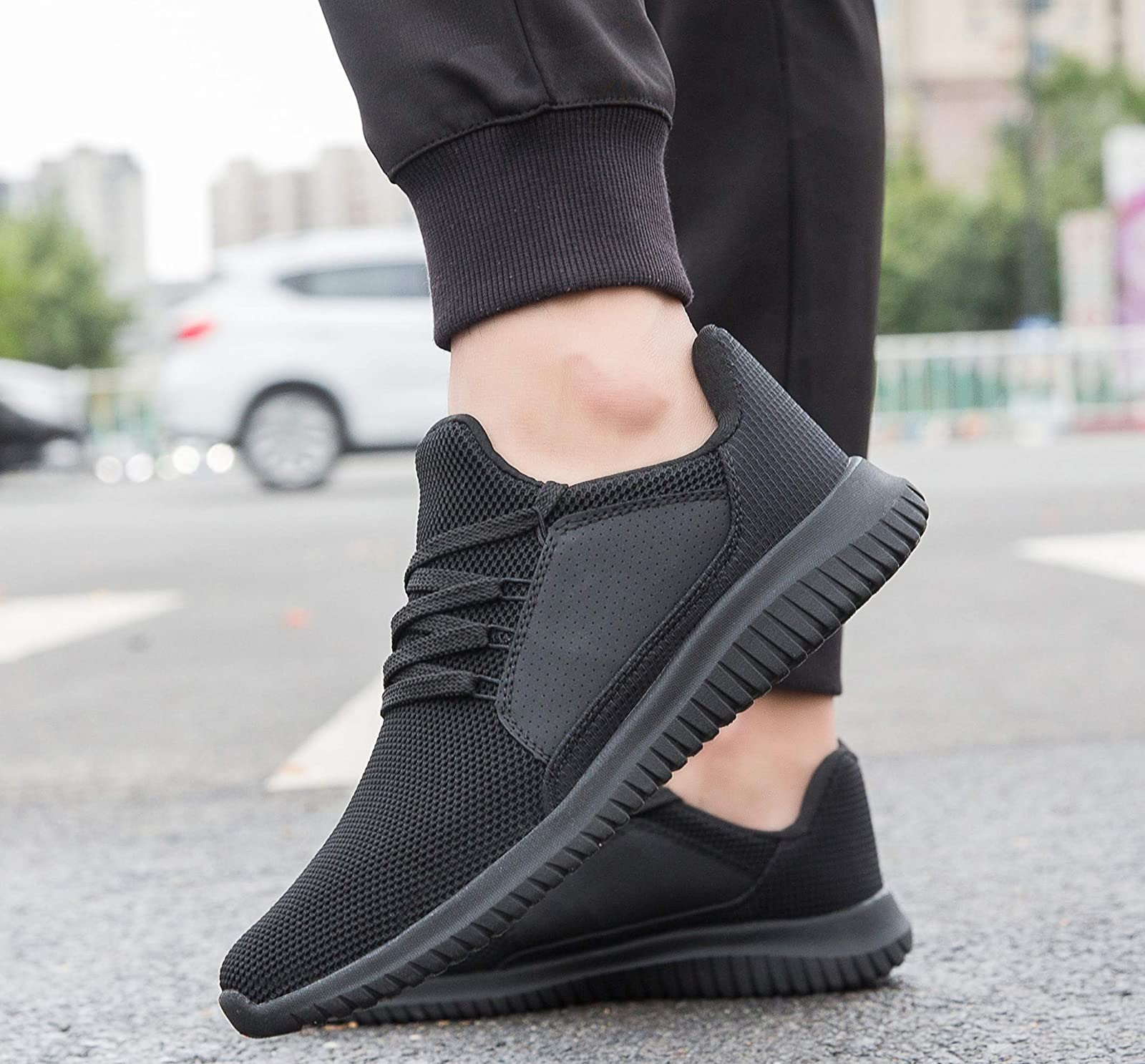 Krystory Casual Running SneakersMen and Women Breathable - 5
