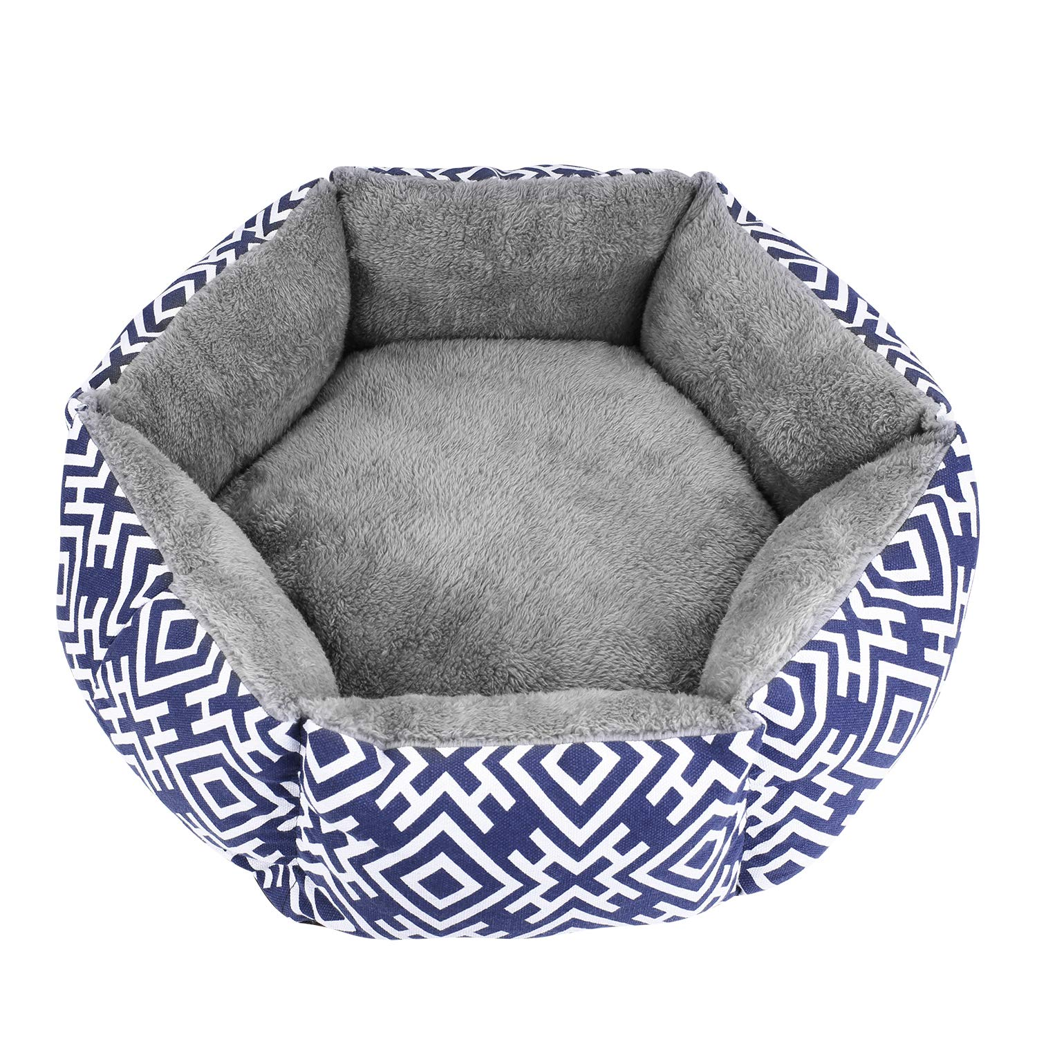 Akarden Cat Bed, Comfortable Cat & Dog House Bed, Self Warming Indoor Pet Bed, Machine Washable by Akarden