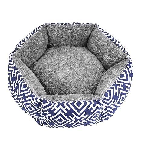 Amazon.com: Akarden - Cama para gatos y perros, cómoda cama ...