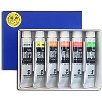 ターナー色彩 ポスターカラー 蛍光6色セット PC06L 11ml