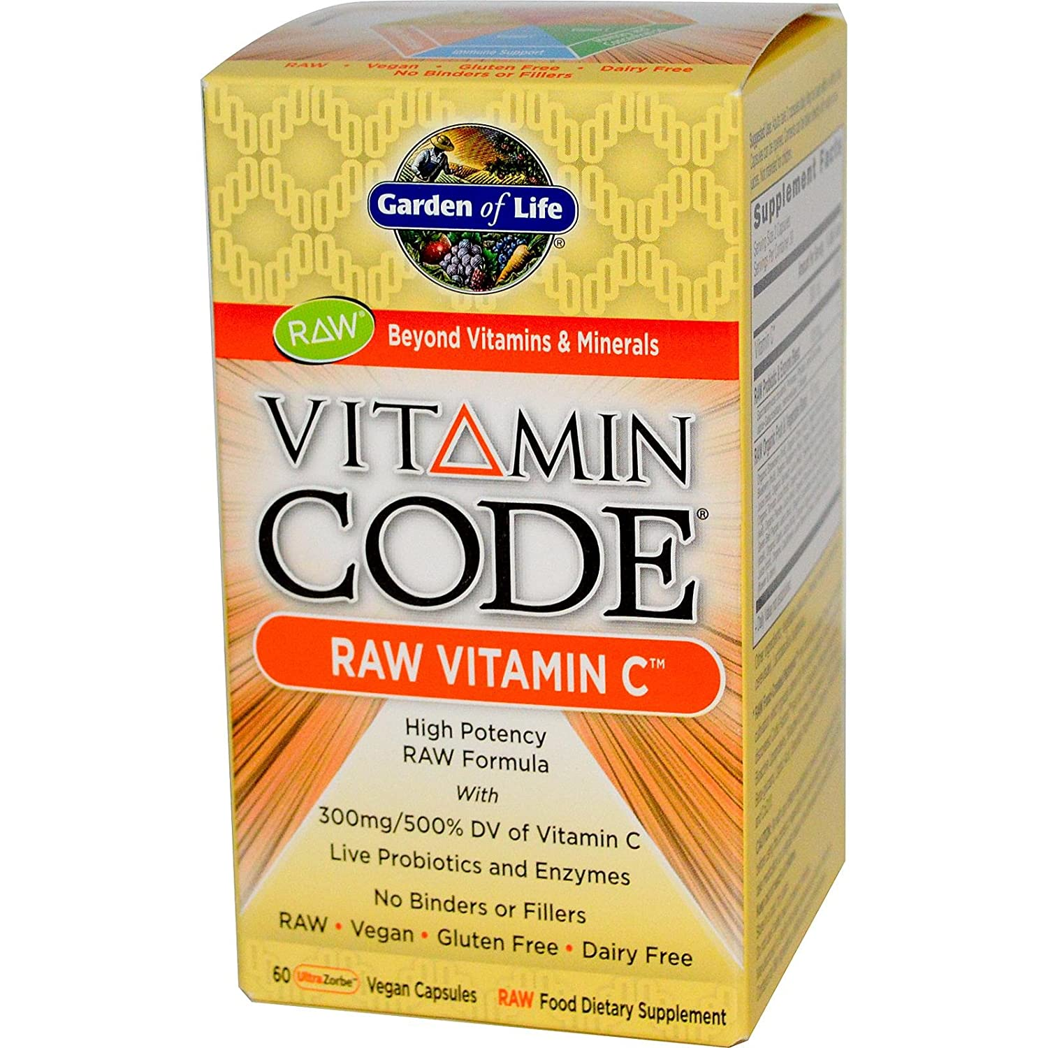 garden of life vitamin code raw vitamin c 60 caps