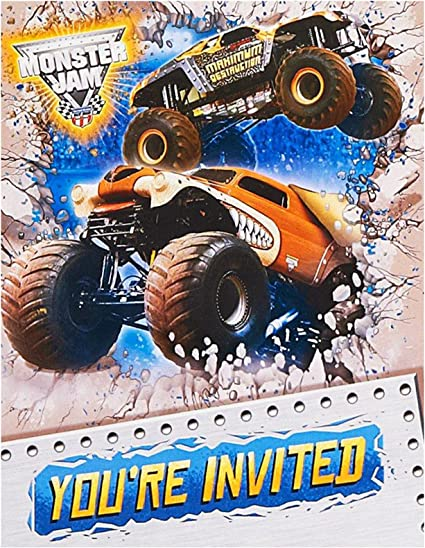 It's just an image of Monster Truck Birthday Invitations Free Printable within construction theme third birthday