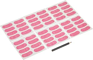 Franklin Sports Eye Black Stickers for Kids - Customizable Lettering Baseball and Football Eye Black Stickers - White Pencil Included - Includes 24 Pairs