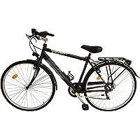 Welter - Esprit Bicicleta de ciudad de 28 pulgadas, color negro, talla única (170-185 cm)