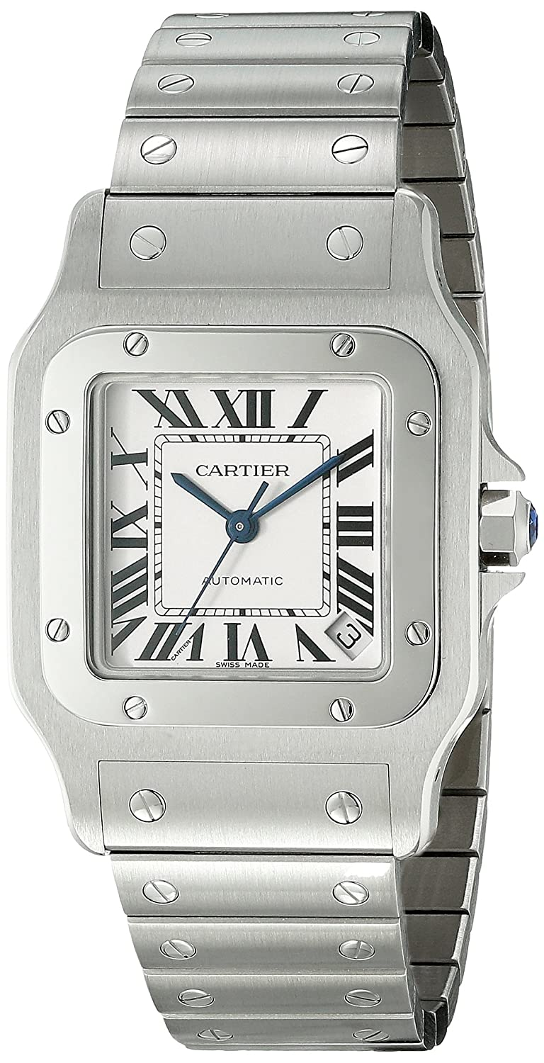 diamond for cartier product sale watch santos mens watches skeleton