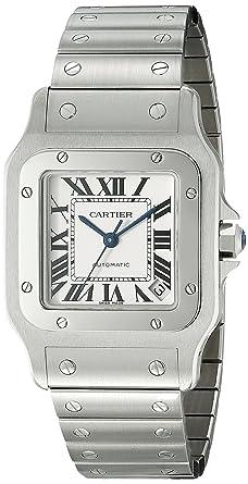 cartier santos mens watch w20098d6 amazon co uk watches cartier santos mens watch w20098d6