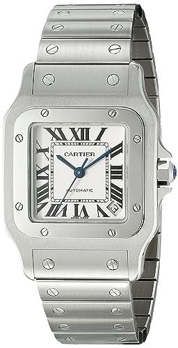 Cartier W20098D6 - Reloj (Reloj de Pulsera, Masculino, Acero, Acero Inoxidable,