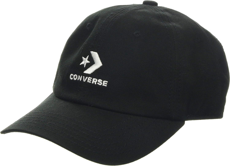 Converse Unisex - Gorra de béisbol para Adultos, Color Blanco y ...