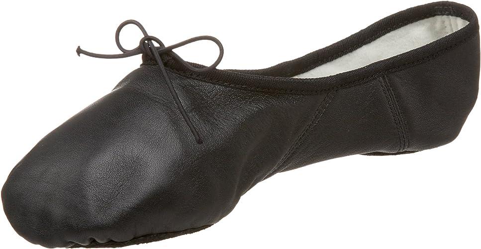 NEW//BOX Men/'s Capezio Leather SPLIT SOLE BALLET Shoes Romeo #2020A Black