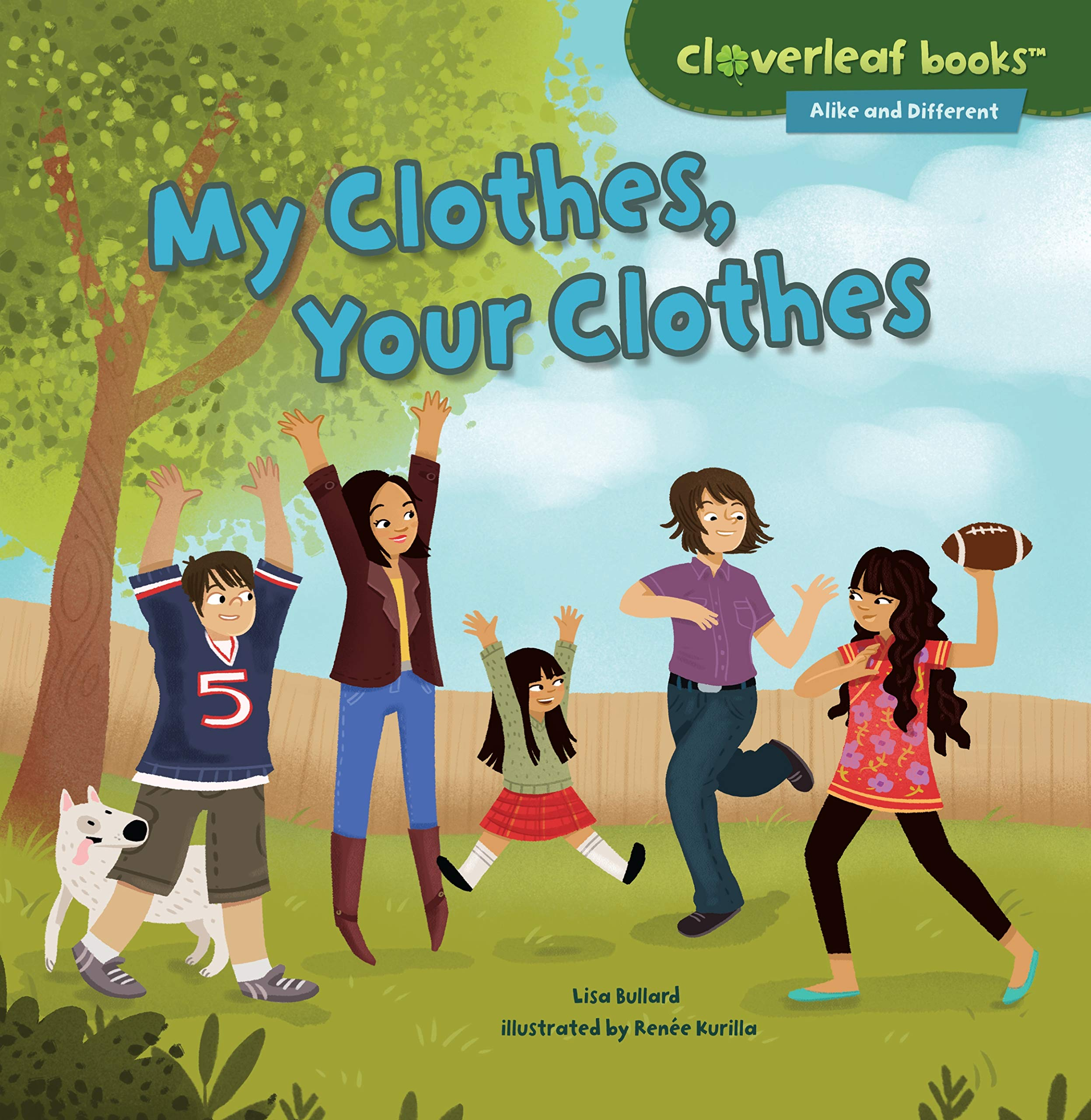 Read Online My Clothes, Your Clothes (Cloverleaf Books - Alike and Different) ebook