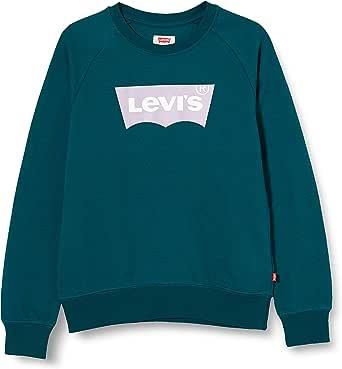Levi's kids Lvg Key Item Logo Crew Sudadera para Niñas