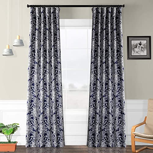 HPD Half Price Drapes BOCH-KC103A-120 Blackout Room Darkening Curtain 1 Panel