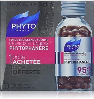 Phyto Phytophanere Integratore Alimentare Capelli e Unghie - 4 MESI di  TRATTAMENTO 120 + 120 Capsule 68f285008e6c