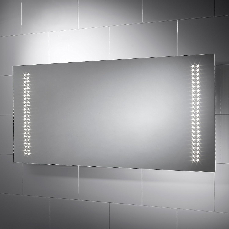 Bevelled Bathroom Mirror Phoenix 1200 X 600mm Illuminated Bathroom Mirror With Led Light