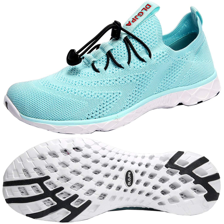 DLGJPA Women's Lightweight Quick Drying Aqua Water Shoes Athletic Sport Walking Shoes by DLGJPA