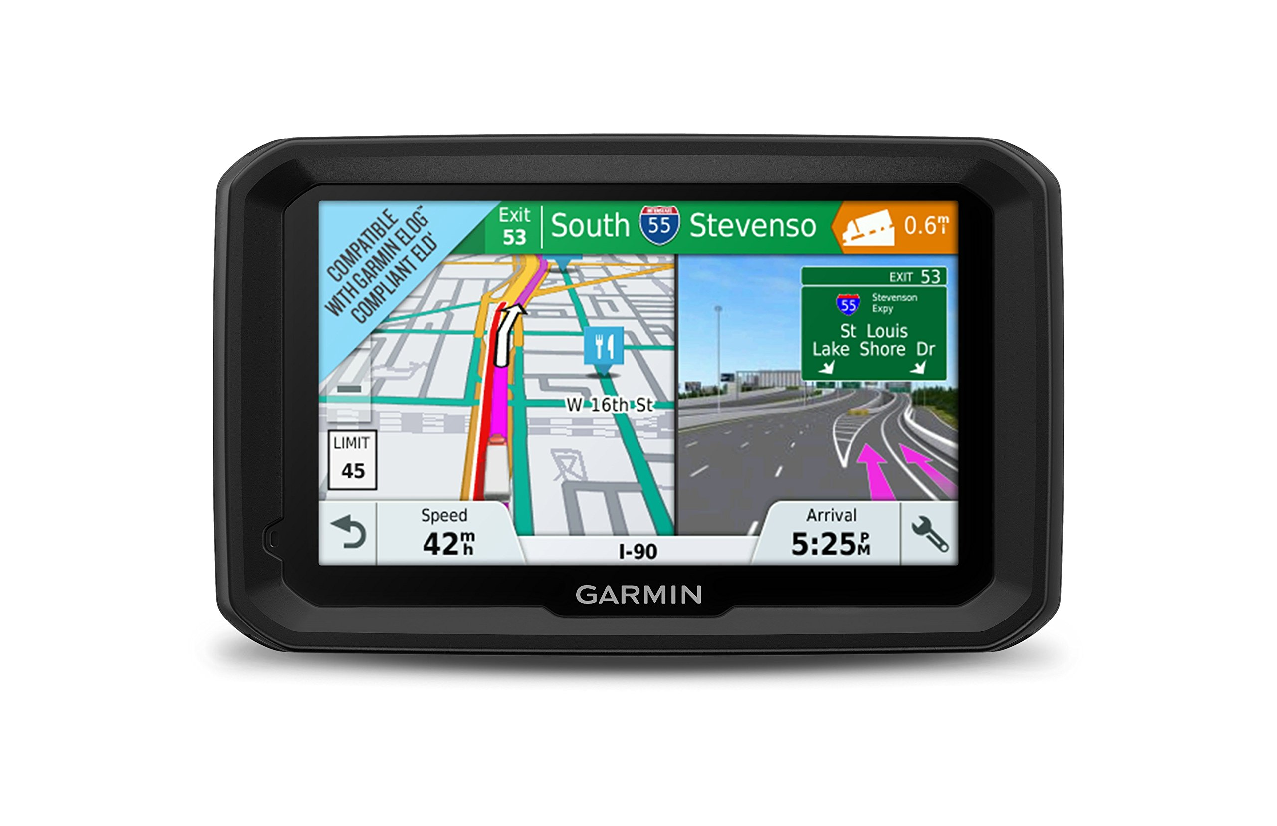 Garmin dezl 580 LMT-S, Truck GPS Navigator with 5-inch Display, Free Lifetime Map Updates, Live Traffic and Weather by Garmin