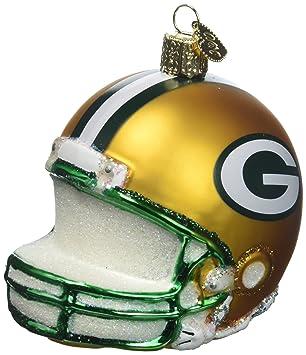 Amazon De Old World Weihnachten 71217 Green Bay Packers Helm