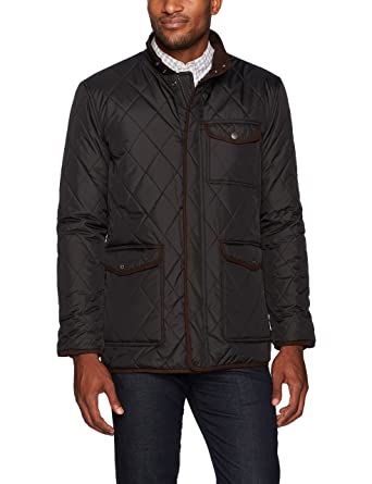 Hart Schaffner Marx Mens Mulberry Quilted Barn Coat At Amazon Mens