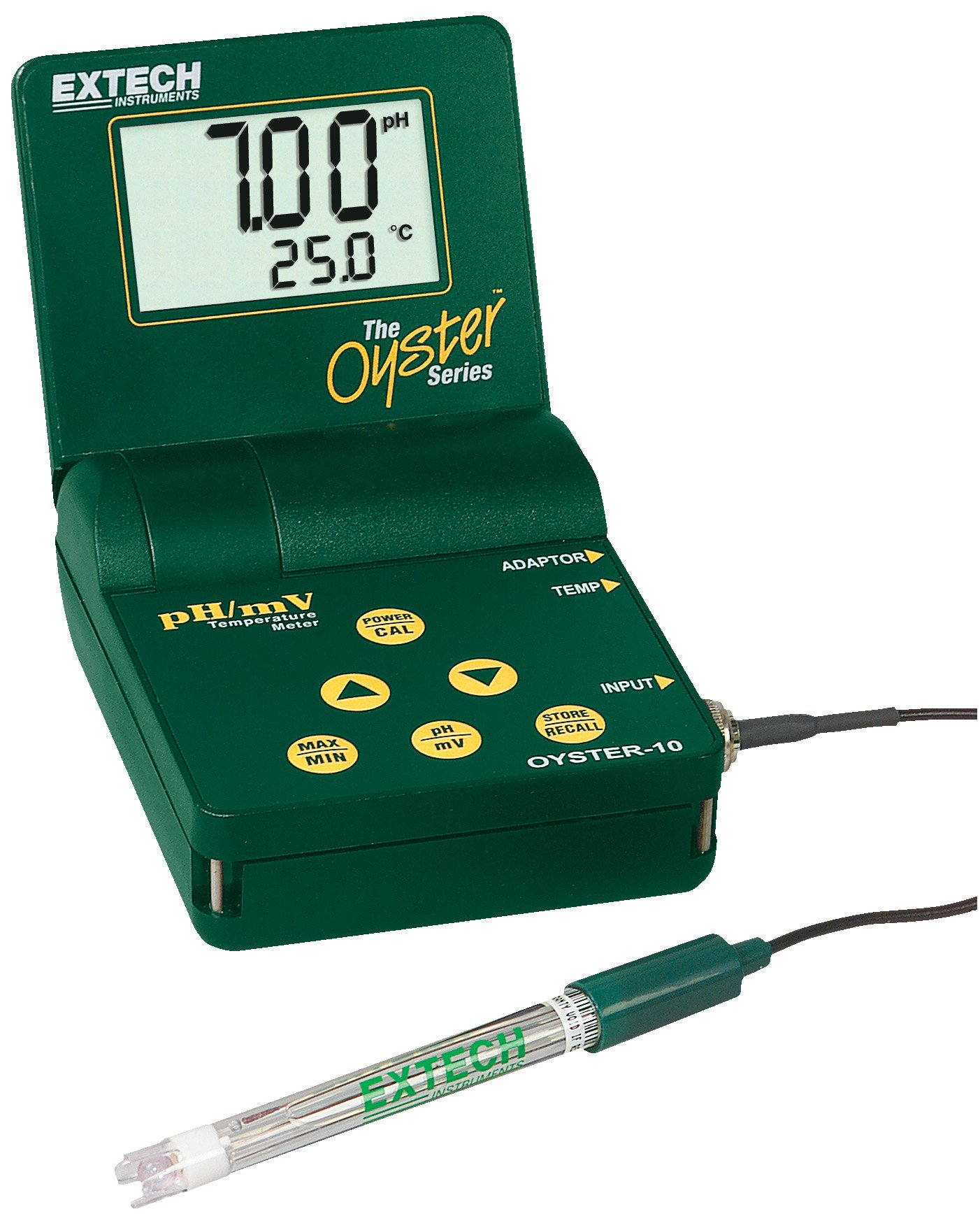 Extech OYSTER-10 PH/MV Temperature Meter by Extech