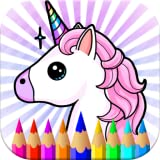 Rainbow Unicorns & Pony's Coloring Pages Kids and Adults