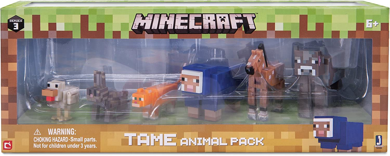 Minecraft Juego Variado de Animales: Amazon.es: Juguetes y juegos