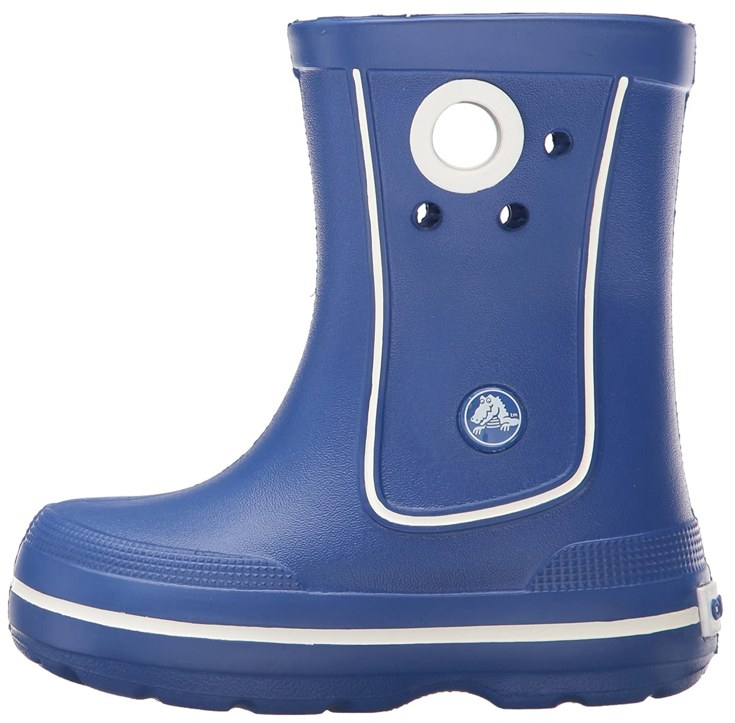 3452c4446 crocs Crocband Jaunt Girls Boot in Blue  Buy Online at Low Prices in India  - Amazon.in